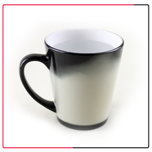pretty picture wholesale cone/funnerl color changing magic mug for christmas gift