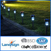 OEM factory 2015 new solar garden light series decorative garden lights type S.S rechargeable garden solar light cat