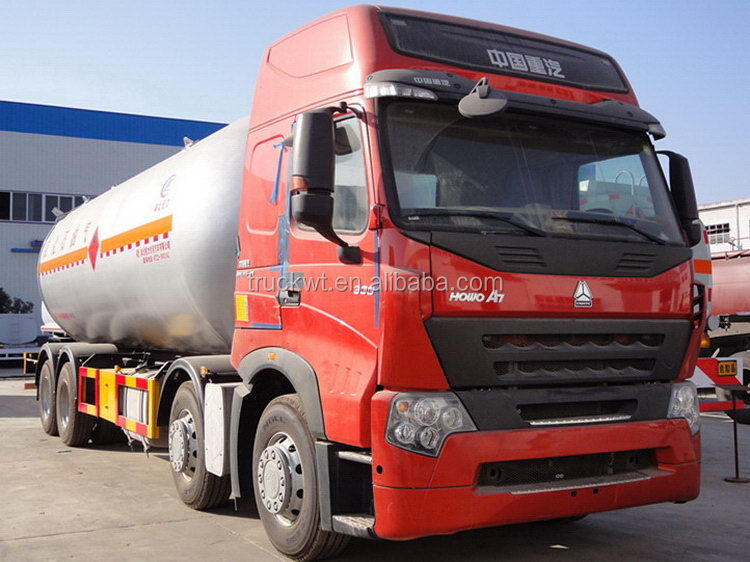 Durable in use newly design 30 cubic meters 8*4 lpg tank truck
