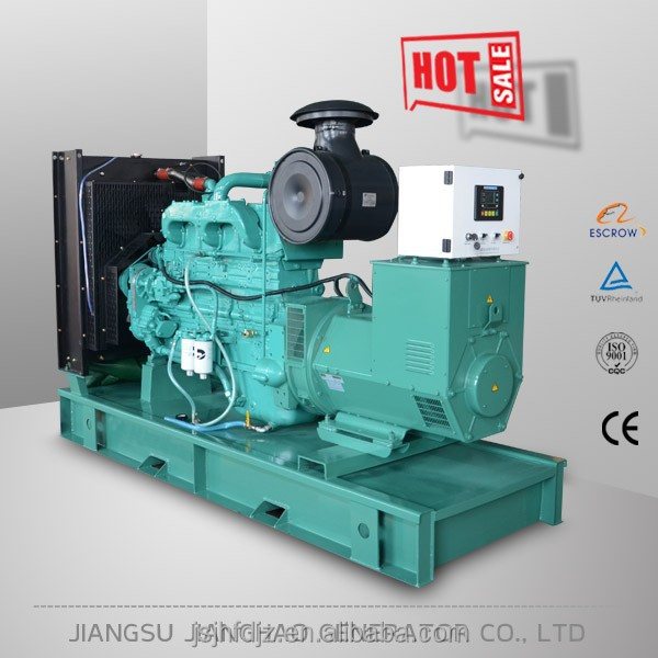 200kw generator with Cummins engine electricity generators