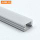 Mini Size Surface Mount Aluminum LED profile with slide in pc cover for 5mm LED strip