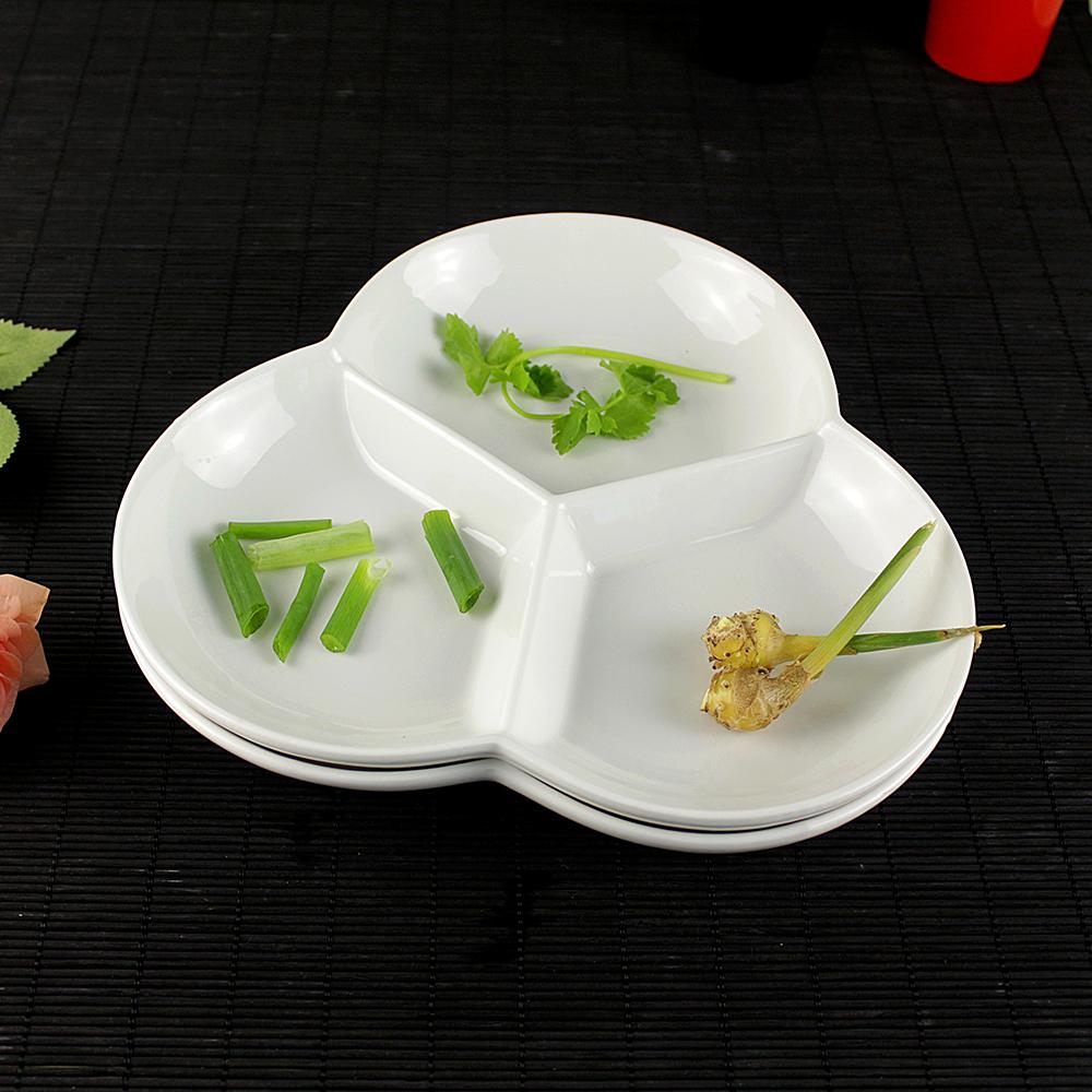 Venta al por mayor platos de ceramica compartimentos for Platos con compartimentos