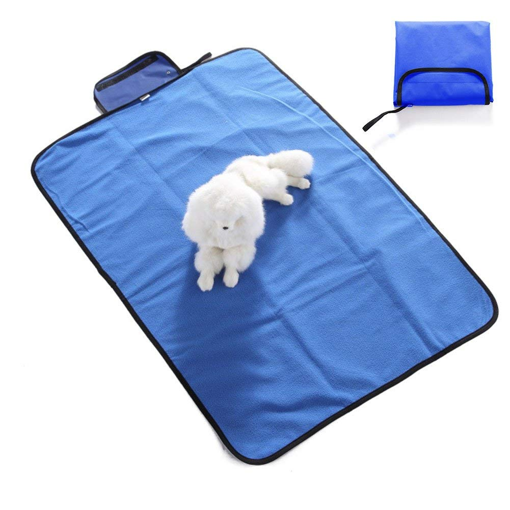 f0cb0eaafb Get Quotations · OSOPOLA Waterproof Dog Blanket Collapsible Pet Picnic Bed  Mat Cushion for Dogs Cats Indoor Outdoor Travelling