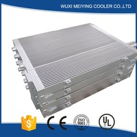 Factory supply plate and bar oil air cooler used for compressor