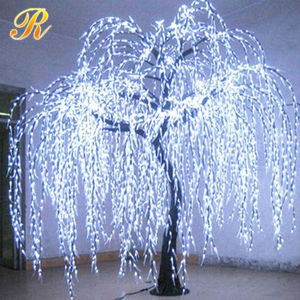 Outdoor Lighted Willow Tree, Outdoor Lighted Willow Tree ...