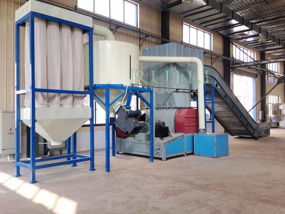 Recycle HDPE LDPE PP ABS PE Plastic Crusher/Shredder/Afval Plastic Crusher Machine