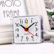 Stylish minimalist design square Imitation crystal clock