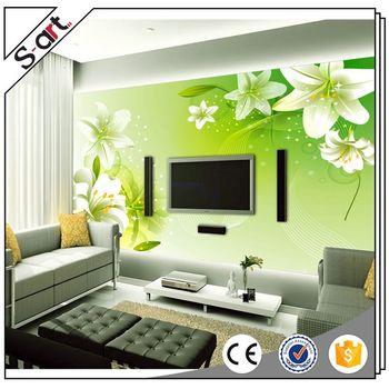 Many Styles Popular 3d Flower Wall Murals India Wallpaper Buy