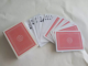 quality 100% PVC playing card poker size