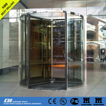all glass revolving door manual automatic crystal. Black Bedroom Furniture Sets. Home Design Ideas