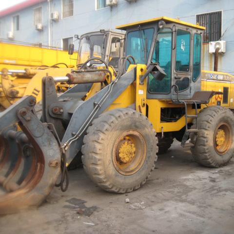 Chinese Lonking LG833 used front end loader / front end shovel loader price