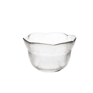 flat bottom food processor mixing glass bowl