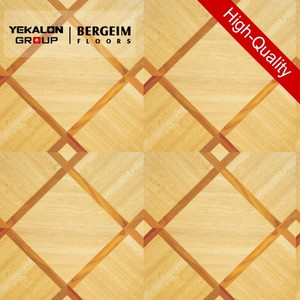 Bergeim Floors Solid Oak Herringbone Teak Parquet Flooring