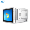 "17"" Industrial embedded Touch Panel PC I3 I5 I7 Rugged Resistive Touch All in One PC"