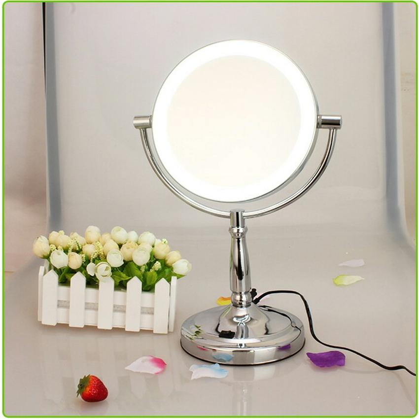 Kosmetikspiegel Mit Licht Wandmontage : bilden werkzeuge smart kosmetikspiegel mit helle led licht tabelle doppelte spiegel 3x ~ One.caynefoto.club Haus und Dekorationen
