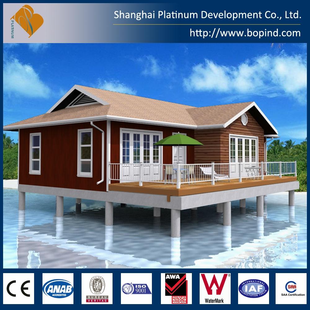 Estructura de acero casa prefabricada para maldivas light casas prefabricadas identificaci n del - Acero casas prefabricadas ...