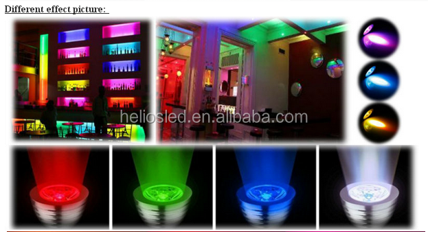 E14 e27 gu10 mr16 3 w modificare il colore del led wifi lampadina