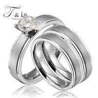 Lover finger diamond ring 18k white gold engagement ring