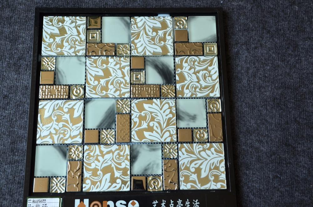 hsjp605 mosaïque de verre salle de bain pas cher, dessin bisazza