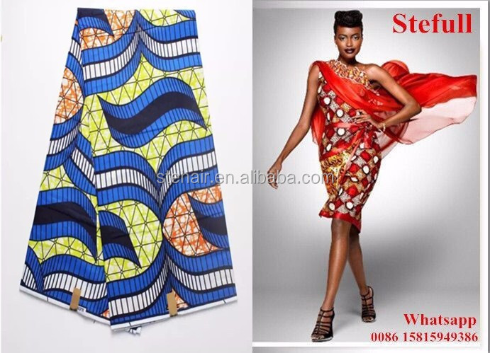 Stefull original african lace new design 100 cotton jean material