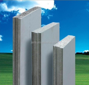 Steel frame prefab ready made house / modular housing made of Eps cement sandwich panel