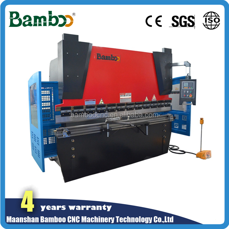 125T Belt Pulley X-Axis Motor hydraulic press brake with Germany EMB tube connector for decoration automobiles industry