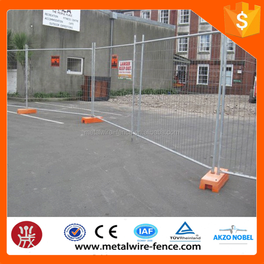 Hot Dipped Galvanized Security Fence Panel Manufacturer Wire Mesh Temporary Fence