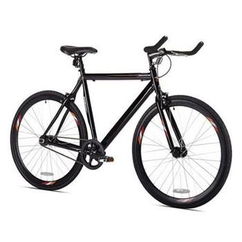 700c All Black Bullhorn Handlebar Fixie Bike Track Bicycle Buy