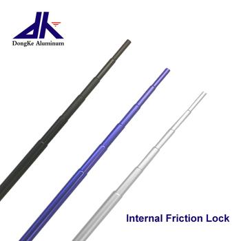 Lightweight Small Aluminum Telescopic Pole With Internal Friction Lock -  Buy Lightweight Telescopic Pole,Internal Lock,Telescoping Pole Product on