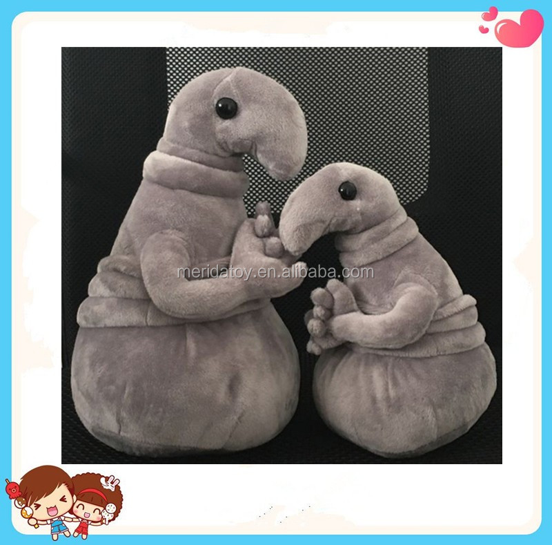 factory sell unique design Russian Alien zhdun master plush toy