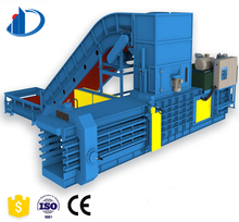 Horizontal Automatic Clothes Rag Plastic Cardboard Edge Hydraulic Compression Baler Compressor Machinery