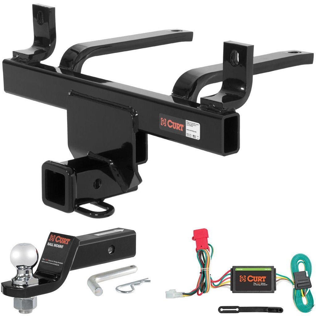 """CURT Class 3 Hitch Tow Package with 2"""" Ball for Subaru B9 Tribeca, Tribeca"""