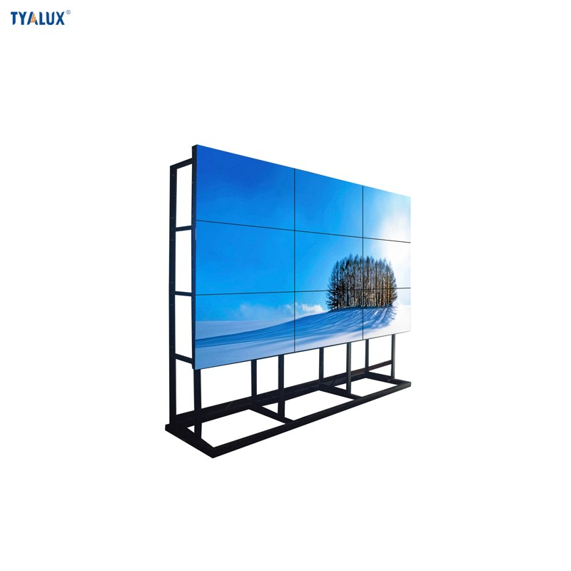 Shenzhen factory frameless best tv for video wall software