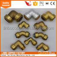 GUTENTOP-LB pvc sharkbite transition copper coupling garden hose nut ball valve w/ drain elbow fitting push-fit fit IN STOCK