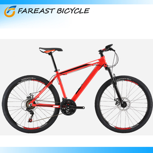 26 Inch Mountain Bike 21 Speed Front Suspension Disc Brake Bicicletas Professional Manufacturers Red Yellow White