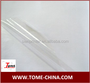 High quality low price transparent self adhesive vinyl film/pvc removable vinyl
