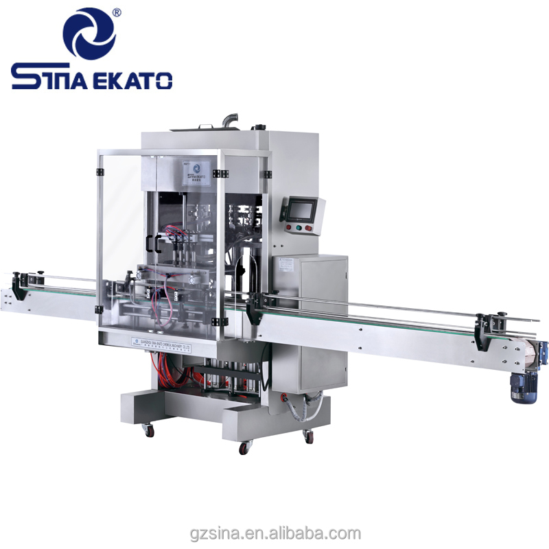 Injection type/normal pressure gravity type double-use automatic liquid filling machine from China manufacturer