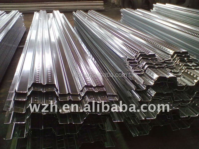 Processing various type of steel metal floor deck