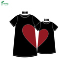 Fashion mom and kids couple family matching outfits baby girls clothes dress mother daughter children dress clothing