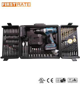 Firstrate 18V Li-ion battery cordless drill set