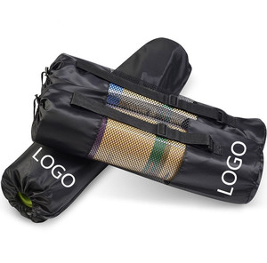 Easy Carried Bag Mesh Surface TPE PU Yoga Mat Bag