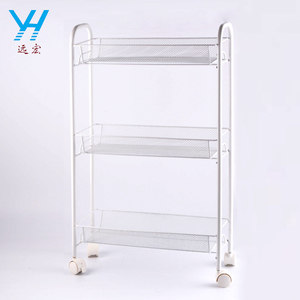 Modern 3-Tier Metal Wire Bathroom Storage Shelf Kitchen Rack