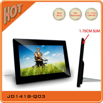 New Private Design 19201080p 14 Inch Sex Digital Photo Frame With