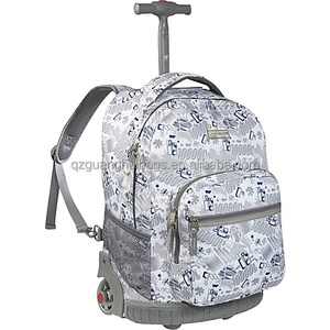 1eb852af8b92 2166 Rockland Luggage 17 Inch Rolling Backpack