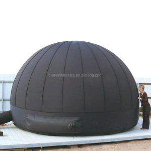 Mini mobile planetarium dome