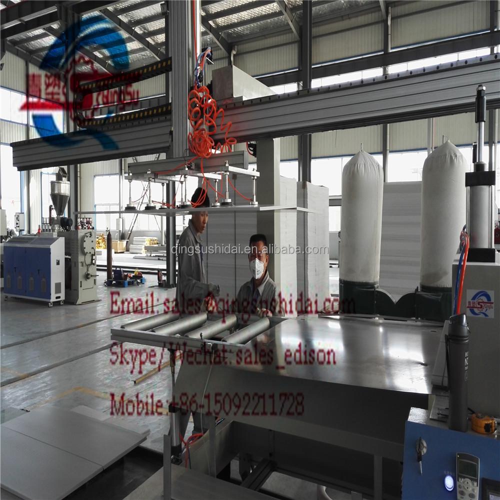 PVC WPC DÉCORATION CONSEIL MACHINE POUR COFFRAGE CUISINE ARMOIRE ...
