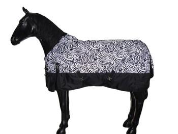 Waterproof Zebra Printing Horse Blanket Patterns