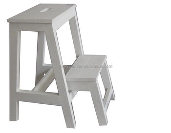 Step Ladder Wooden Folding Stool