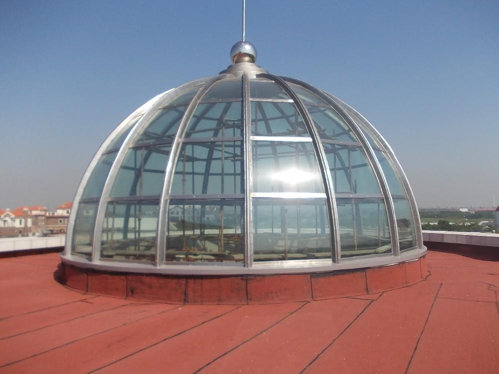 hemispheric domes