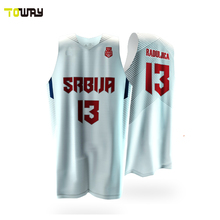 toway sportswear oem plain basketball uniforms design pattern